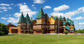 Wooden palace of tzar Aleksey Mikhailovich, Russia — Stock Photo