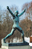 Sculpture at Vigeland Park in Oslo, Norway — Stock Photo