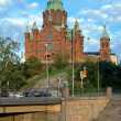 Uspenski Orthodox Cathedral in Helsinki, Finland — Stock Photo #16027125