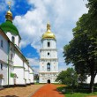 The bell tower of St. Sophia Cathedral in Kiev — Stock Photo