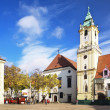 City Hall in the Old Town of Bratislava — Stock Photo