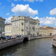 Moyka river in Saint Petersburg, Russia — Stock Photo
