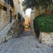 Street of Jaffa Old Town - Stock Photo