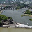 Stock Photo: GermCorner (Deutsches Eck) in Koblenz, Germany