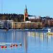Savonlinna Cathedral, Finland - Stock Photo