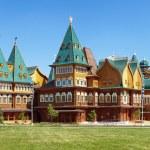 Wooden palace of tzar Aleksey Mikhailovich, Russia — Stock Photo