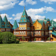 Wooden palace of tzar Aleksey Mikhailovich, Russia — Stock Photo #16028079