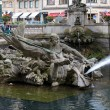 Triton Fountain in Duesseldorf, Germany — Stock Photo