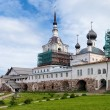 Stock Photo: Churches in Solovetsky Monastery, Russia