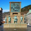 Monument to the sailors in Bergen, Norway — Stock Photo