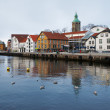 Guest harbour of Stavanger, Norway — Stock Photo #16029015