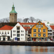 Guest harbour of Stavanger, Norway — Stock Photo #16029029