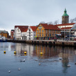 Guest harbour of Stavanger, Norway — Stock Photo
