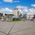 Independence Square in Kiev, Ukraine — Stock Photo #16029275