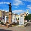 Fountain Themis in Krasnoyarsk, Russia — Foto Stock #16029507