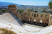 Odeon of Herodes Atticus in Athens, Greece — Stock Photo