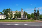Lenin monument in Petrozavodsk — Stock Photo