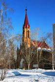 Catholic Cathedral in Irkutsk — Stock Photo