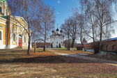 Churches in the Zaraysk Kremlin, Russia — Stock Photo
