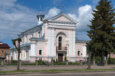 Chiesa di santa barbara in berdychiv, ucraina — Foto Stock