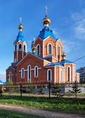 Orthodox Cathedral in Komsomolsk-on-Amur — Foto de Stock