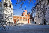 Church of Tikhvin Icon of Mother of God in Kolomna — Stock Photo