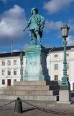 スウェーデンへの記念碑王グスタフ 2 世アドルフ ・ ヨーテボリ — ストック写真