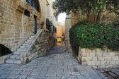 Street of Jaffa Old Town — Stock Photo