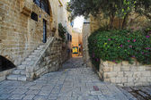 Street of Jaffa Old Town — Stock Photo