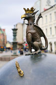 Gryphon - emblem of Malmo — Stock Photo