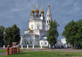 The Trinity cathedral in Verkhoturye, Russia — Stock Photo