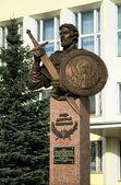 Monument to Prince Dmitry Pozharsky in Borisoglebsk — Stock Photo