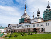 Churches in Solovetsky Monastery, Russia — Stock Photo