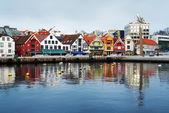 Guest harbour of Stavanger, Norway — Stock Photo