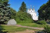 Anıt taş cathedral poltava civarındaki oteller — Stok fotoğraf