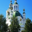 Church of the Holy Cross Exaltation in Tyumen, Russia — Stock Photo
