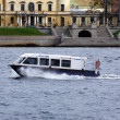 Aquabus (city public water transport) in St. Petersburg — Stock Photo