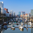 Dusseldorf, Media Harbour with contemporary architecture — Stock Photo #16030491