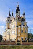Resurrection church in Tomsk, Russia — Stock Photo