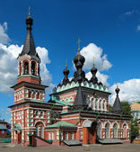Cathedral of Seraphim of Sarov in Kirov — Stock Photo