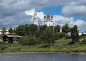 Trinity cathedral in Verkhoturye, Russia — Stock Photo