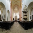 Stock Photo: Interior of Church in Ceske Budejovice, Czech Republic