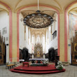 Interior of the Church in Ceske Budejovice, Czech Republic — Stock Photo #16264127