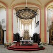 Interior of the Church in Ceske Budejovice, Czech Republic — Stock Photo