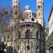 Basilica of the Holy Apostles in Cologne, Germany - Stock Photo