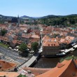 Panorama of Cesky Krumlov, Czech Republic — Stock Photo