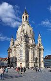 Frauenkirche à Dresde, Allemagne — Photo