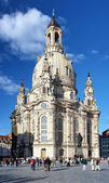 Frauenkirche in Dresden, Germany — Stock Photo