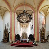 Interior of the Church in Ceske Budejovice, Czech Republic — Stock Photo