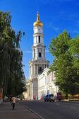 The bell tower in Kharkiv, Ukraine — Stock Photo